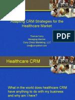 060224-CRM Strategies in HealthCare