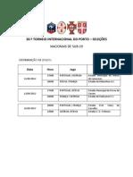 30 Torneio Internacional Sub19 Porto