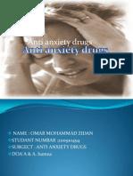 Anti Anxiety Drugs
