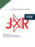Proxecto de Precandidatura de Noelia García á secretaría xeral de JSE