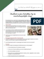 School_Folder Sjabloon Checklist Ouders Betrekken Bij de MaS