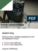 Bukkit's Database Engine