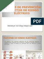 Factores de Riesgo Electrico