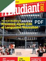 Vivre et étudier en Provence-Alpes-Côte d'Azur et Languedoc-Roussillon 2012