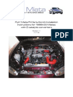 99-00 FM2 Two Cat Turbo Kit