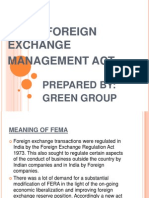 Fema (Foreign Exchange Management Act
