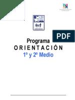 Programa O. 1 y 2 Medio
