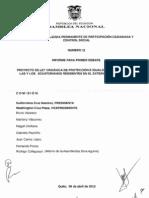 """""""PROYECTO DE LEY ORGÁNICA DE PROTECCIÓN E IGUALDAD DE DERECHOS DE LAS Y LOS ECUATORIANOS RESIDENTES EN EL EXTERIOR Y SUS FAMILIAS"""""""