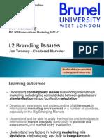 International Branding 2012s1