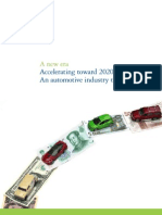 A New Era Automotive Industry 2020