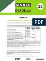 ENADE - QUIMICA