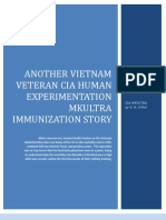 Another Vietnam Veteran CIA Human Experimentation MKULTRA Story