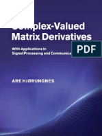 0521192641 Matrix Derivatives