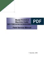 Machine+Code+D017,+D018,+D019,+D020,+D084,+D085+Field+Service+Manual