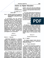 CHED Memo 37, Series 2007