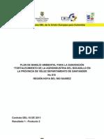 Plan de Manejo Ambiental para Adquisiciones  y puesta en marcha de deshidratadora de guayaba para seis asociaciones de siete municipios de la Hoya de Río de Suarez