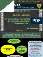 Control Ambiental EXPOCICION Escombreras