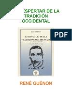 5886827 Guenon Rene El Despertar de La Tradicion Occidental (1)