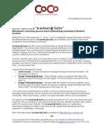 Coco d.school Press Release_4!11!12