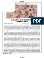 In Search of the Meaning of Sami Games