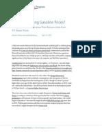 Is Big Oil Rigging Gasoline Prices?