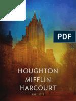 Fall 2012 HMH Books Adult Catalog