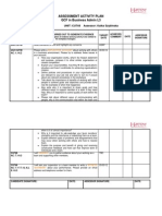 Assessment Activity Plan Cu748