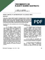 Cinetica de Crecimiento de Acetobacter-Aceti