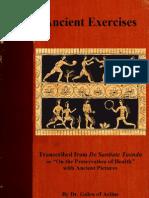 Ancient Exercises- Dr. Galen of Pergamon (Ancient Rome)