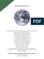 Datos Generales Sobre La Tierra