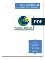 A Survey Report on the HSE of the PSO Retail Outlets Final FAU