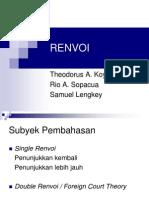 Kelompok III Renvoi