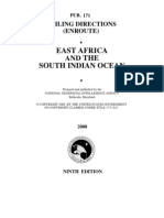Pub. 171 East Africa and the South Indian Ocean 9ed 2008