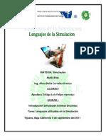 Lenguajes Utilizados en Simulacion