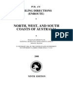 Pub. 175 North, West, And South Coasts of Australia 9ed 2008