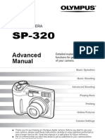 Olympus Camera Manual SP320