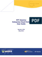 Enterprise Cloud Portal User Guide