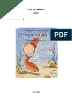 O SEGREDO DO RIO - Ficha de Trabalho