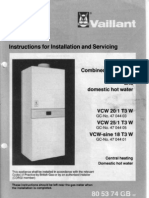 VAILLANT VCW 20-25-18sine-Inglese