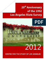 CSLA Riots Report - 20 Years Later