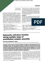 Activadores-eucariontes