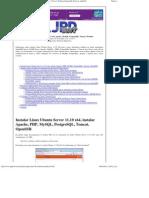Instalar Linux Ubuntu Server 11 x64, Apache, MySQL, PostgreSQL, Tomcat, Webmin Imprimible Proyecto AjpdSoft