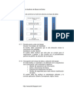 Metodologías para la Auditoria de Bases de Datos