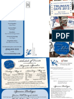 721 Truman Days Brochure 2012