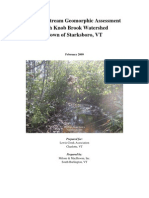 'Phase 2 Stream Geomorphic Assessment High Knob Brook Watershed', Milone and McBroom, Inc, February 2009