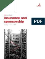 Insurance and Sponsorship 2010 - Redmandarin