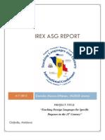 ASG Report D. Munca-Aftenev