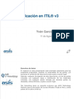 Presentacion PPT Webinar ITIL V3