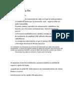 Historia de La FM (Disertacion)