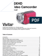 Vivitar Camcorder Manual